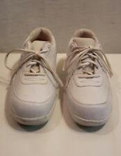 Apex Women's Shoes Leather Lace Up Casual Oxford Diabetic Ambulators sz 9.5 W
