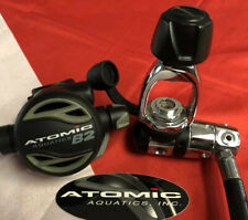 ATOMIC AQUATICS B2 REGULATOR WITH  YOKE 1ST STAGE AWESOME ! 💥