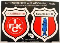 2 Auto Aufkleber auf Bogen + Kaiserslautern + Stadt + Verein FC + RAR # 201824 +