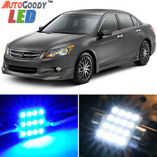 14 x Premium Blue LED Lights Interior Package Kit for Honda Accord 03-12 + Tool