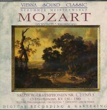 Mozart Salzburger Sinfonien Nr. 1, 2 und 3 (3 divertimenti KV136-138).. [CD]