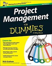 Project Management for Dummies (For Dummies Series) New Paperback Book Nick Grah