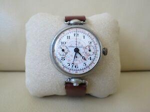 Universal Geneve Monopusher Chronograph 39mm Vintage 1920`s Watch