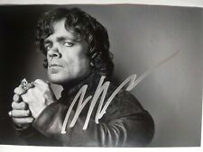 PETER DINKLAGE Authentic Hand Signed Autograph 4X6 Photo - GAME OF THRONES