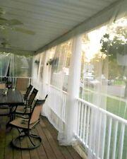 8 panel netting White Mosquito  Curtain