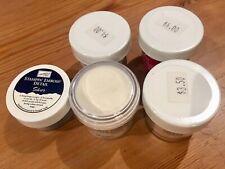 Lot of 5 NEW Embossing Powders PLUS 6 NEW Glitter Jars