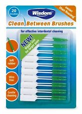Wisdom Clean Between Interdental Brushes Green Medium (20 Per Pack)