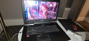 ORIGIN gaming laptop (black) used ver well taken care of