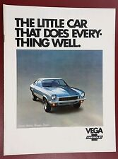 1972 Chevrolet Vega Dealer Brochure
