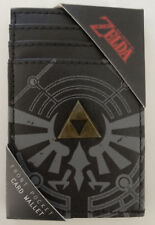 The Legend of Zelda Tri-Force Logo Nintendo Metal Badge Front Pocket Card Wallet