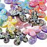 P/D: 20 Mix Schmetterling Acryl Spacer Perlen Beads Basteln 29x22mm