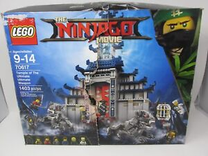 Lego Ninjago 70617 Temple of The Ultimate Ultimate Weapon 1403 PCS Complete