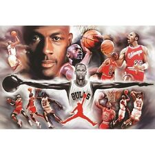 Michael Jordan - Collage - NBA Baskteball Poster