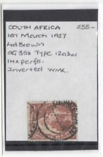 Independent Nation Handstamped Pre-Decimal British Colony & Territory Stamps