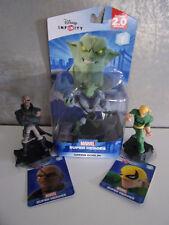 Disney Infinity 2.0 - Green Goblin, Iron Fist, Nick Fury (Spiderman) - Neu