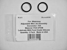 2 Waterway 805-0016 O-Rings / Adjustable Mini Jet / R&S 016WW / FDA EPDM Mat.