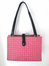 Kate Spade Authentic Pink Canvas Tote Bag Medium