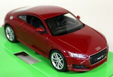 Nex Models 1/24 Scale 24057 Audi TT Coupe 2014 Dark Red Diecast model car