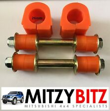 MITSUBISHI Pajero Shogun MK2 Nuovo Posteriore 26mm Anti Roll Bar Bush Kit LWB
