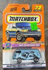 Matchbox On Tour Series 1967 VW Volkswagen Delivery Van MB #72 GB