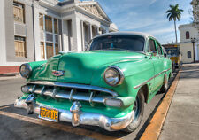 BEAUTIFUL CLASSIC CAR CANVAS PICTURE #44 STUNNING RETRO CARS IN CUBA A1 CANVAS