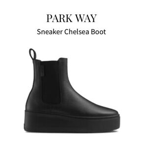 Russell & Bromley PARK WAY Sneaker Chelsea Boot In Black Uk 3 (EU 36)  RRP £195