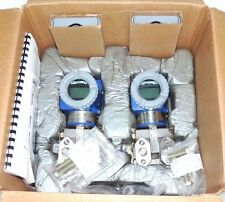 LOT OF 2 NEW FOXBORO IDP10-A20B21F-M1 PRESSURE TRANSMITTERS IDP10A20B21FM1