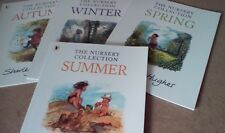 SHIRLEY HUGHES SEASONS 4 BOOK SET: SUMMER, SPRING, AUTUMN & WINTER