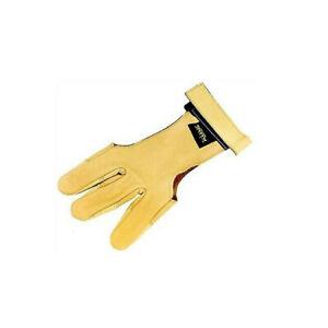 PSE/King Deerskin Glove 3-Finger Double Layered At Fingerips