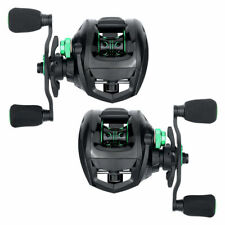 Super Smooth Fishing Baitcasting Reel 6.3:1 Gear Ratio Left Right Hand 18lb Drag