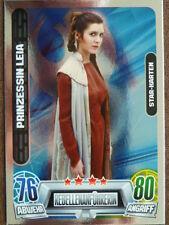 Force Attax Star Wars Serie 2 (2013, grün), Prinzessin Leia (199), Star-Karten