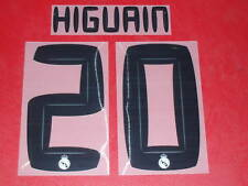 FLOCAGE OFFICIEL HIGUAIN REAL MADRID HOME 2010/2011