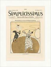 Titelseite der Nummer 48 von 1918 Ragnvald Blix Frühjahr Simplicissimus 1161