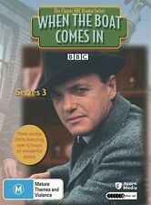 When The Boat Comes In : Series 3  BBC (DVD, 2010, 6-Disc Set) Region Free