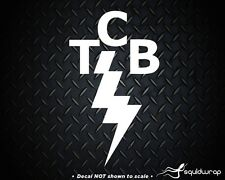 """Elvis Famous TCB (Taking Careof Business) Sticker/Decal- 5.2"""""""