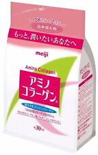 NEW Meiji Amino Collagen Beauty Powder Refill 214g 30 Days F/S