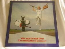 ROLLING STONES Get Yer Ya-Ya's Out Charlie Watts 180 gram CLEAR vinyl SEALED LP