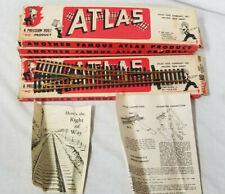 Atlas Custom Line HO Gauge #4RH Brass Assembled Turnout (4)
