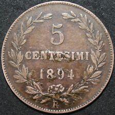 More details for 1894   san marino 5 centesimi   copper   coins   km coins