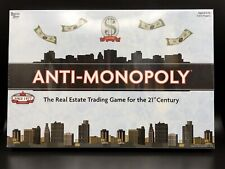Anti-Monopoly Board Game University Games 2009   New Sealed