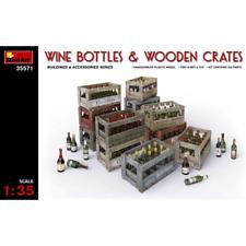 MiniArt 1/35 Wine Bottles & Wooden Crates 35571