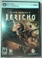 Clive Barker's Jericho PC Game - Brand New Y Sealed