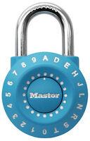 Master Lock  1-15/16 in. Anti-Shim Technology  Steel  Combination Padlock