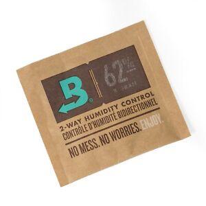 Boveda 62% RH 8 gram Humidipak 2 Way Humidity Control - Pack of 8