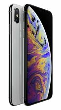 SIM Free Apple iPhone Xs Max 6.5 Inch 256GB 12MP 4G iOS Mobile Phone - Silver