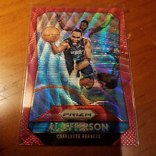 2015-16 Panini Prizm RUBY WAVE PRIZMS #12 Al Jefferson #/350