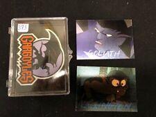 GARGOYLES 1995 SKYBOX SERIES 1 BASE CARD SET 1-90,1-10 POP-UP SET, D1 & D2 Cards