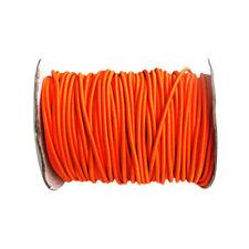 4mm 3 Meters Orange Stretch Bungee Rope Shock Cord Roof Racks Boats Trailers