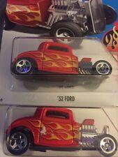 Hot Wheels '32 Ford PAINT ERROR! 2017 Release! Please Read Description! 2 Cars