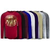 New Men Medusa Long Sleeve T-Shirt 9 Colors Gold Foil Sizes S-4XL